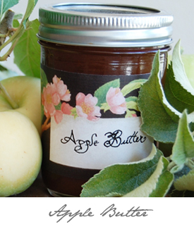 Apple Butter Button