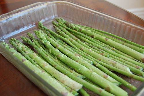 Asparagus uncooked 500