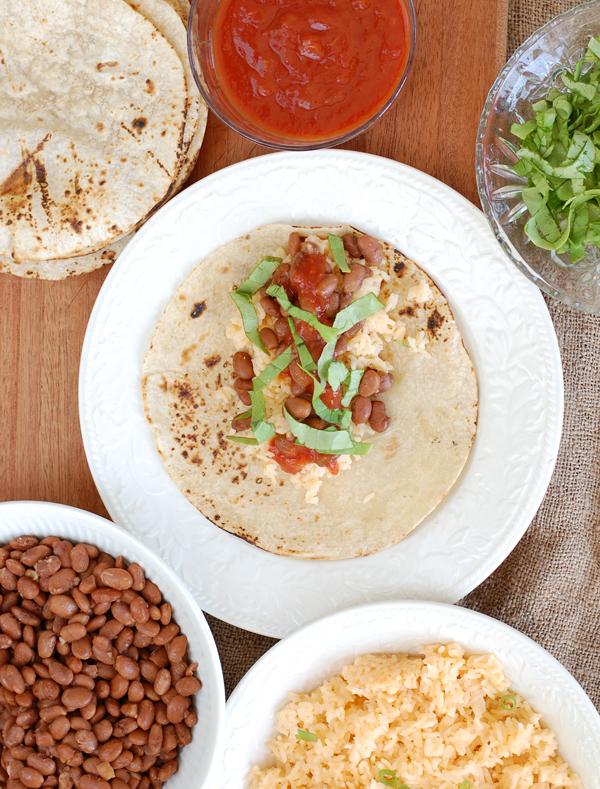 Bean Burritos ingredients