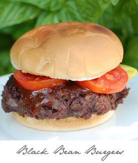 Black Bean Burgers Button