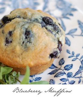 Blueberry Muffins Button