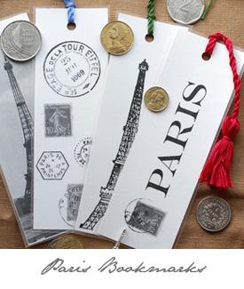 Bookmarks Paris button