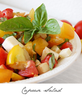 Caprese Salad Button