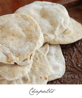 Chapatis Button