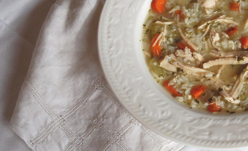 Chicken and Rice Soup 500