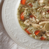 Chicken and Rice Soup menu