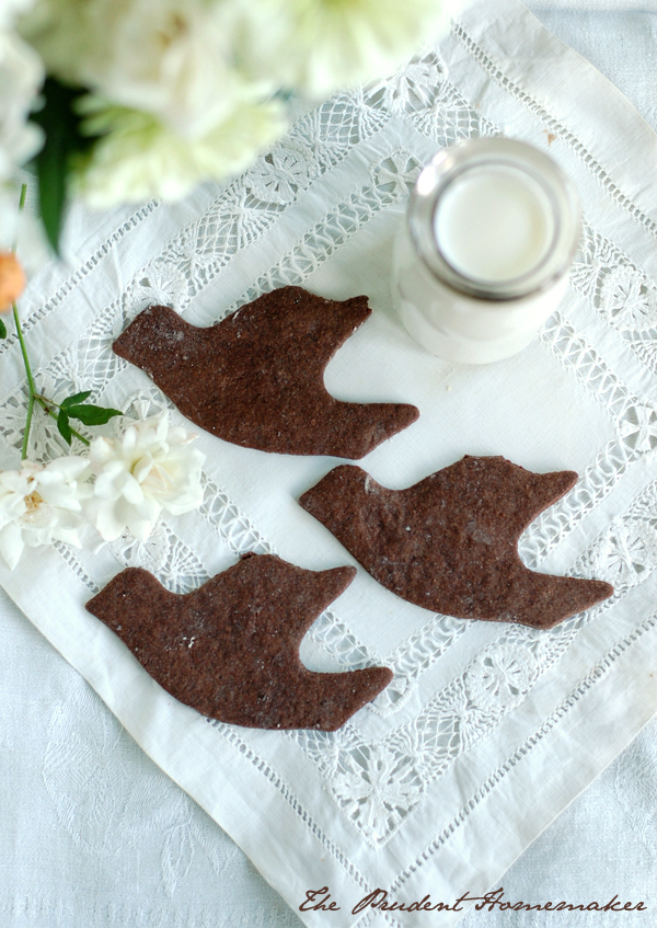Chocolate Wafer Cookies Doves The Prudent Homemaker