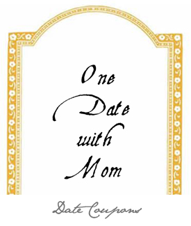 Date with Mom Button