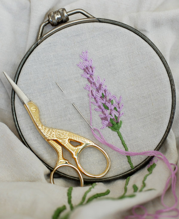 Embroidery Lavender
