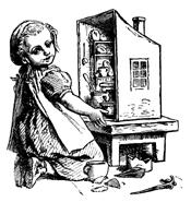 Girl in Dollhouse