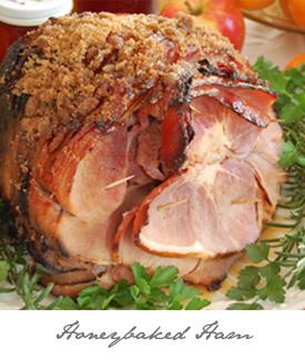 Honeybaked Ham Button