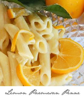 Lemon Penne Button