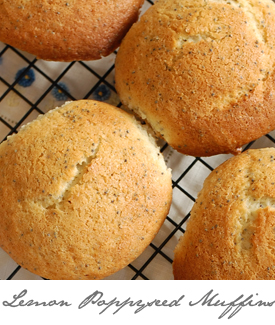 Lemon Poppyseed Muffins Button