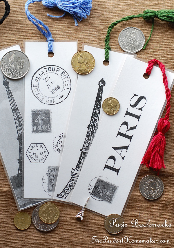 Paris bookmarks 2 The Prudent Homemaker