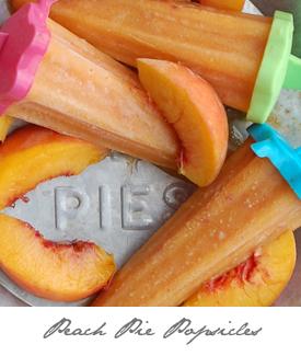 Peach Pie Popsicles Button