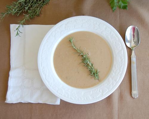 Rosemary-White bean Soup 2