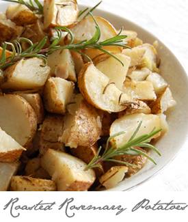 Rosemary Potatoes Button
