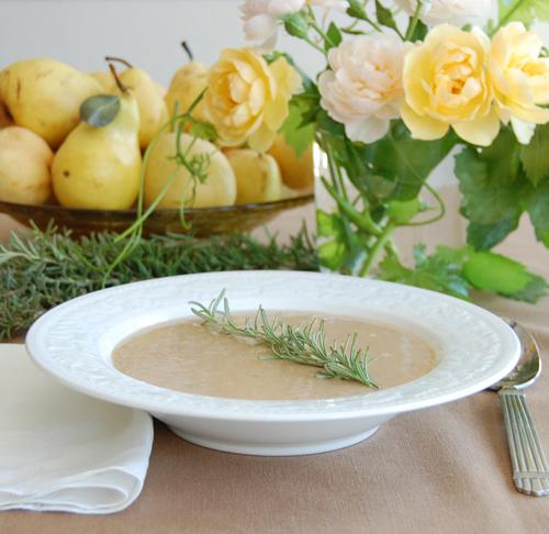 Rosemary White Bean-Soup
