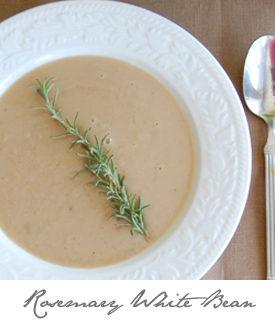 Rosemary White Bean Soup Button