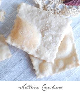 Saltine Crackers Button