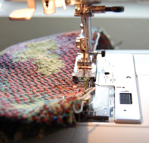 Sew bag edges