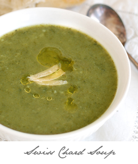 Swiss Chard Soup Button