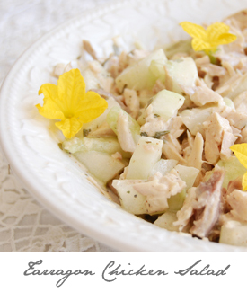 Tarragon Chicken Salad Button