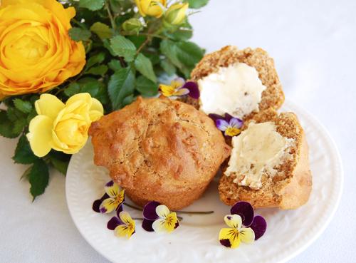 Walnut muffins 500