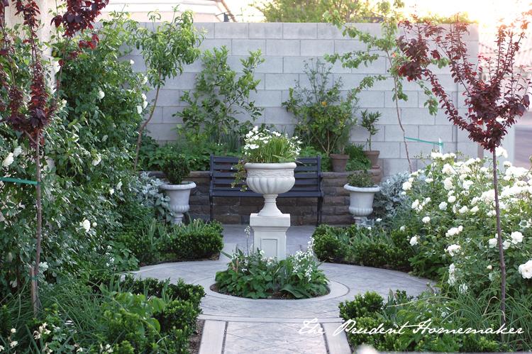 White Garden April The Prudent Homemaker