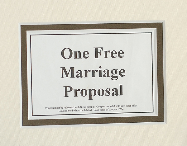 My Husband is So Frugal He Proposed With a Coupon