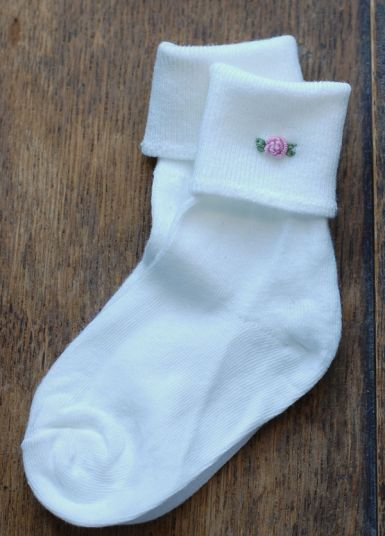 A Gift a Day: Day Seven–Embroidered Socks