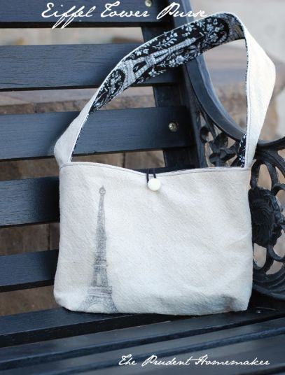 A Gift a Day 2013: Day Thirteen: Eiffel Tower Purse