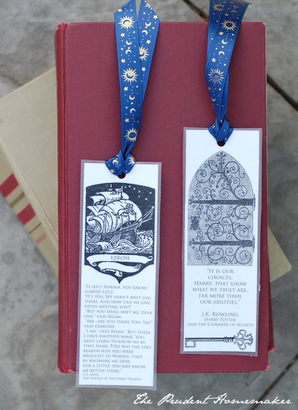 Medieval Bookmarks 1 A Gift a Day The Prudent Homemaker