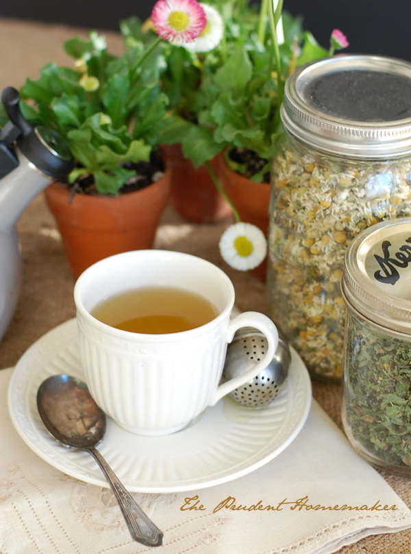 Peppermint Tea The Prudent Homemaker