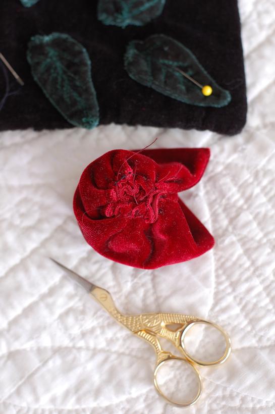 Rose sewing 2