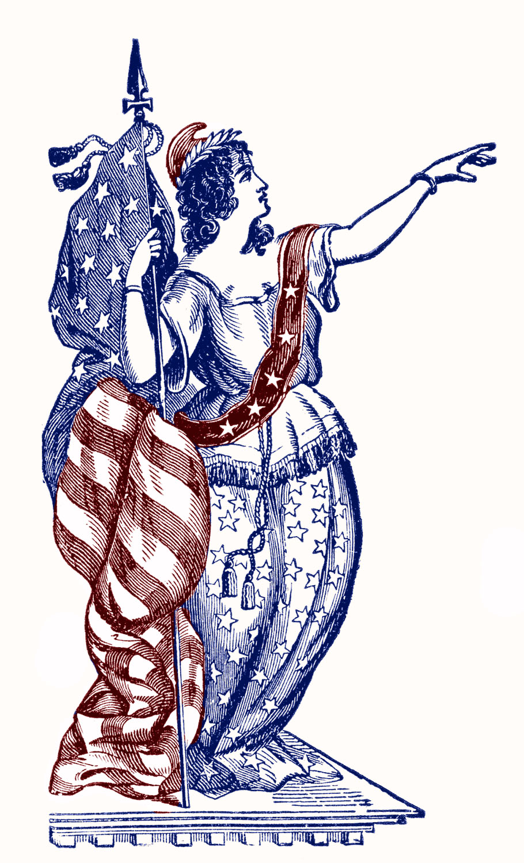 lady liberty vintage graphicsfairy008c
