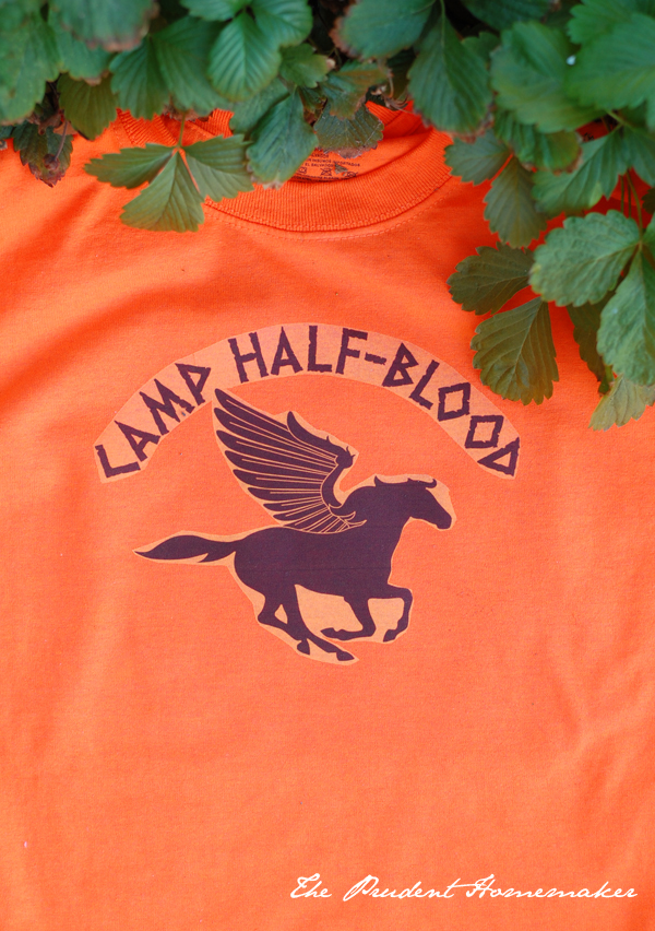 A Gift a Day: Day Nine: Camp Half-Blood T-Shirt