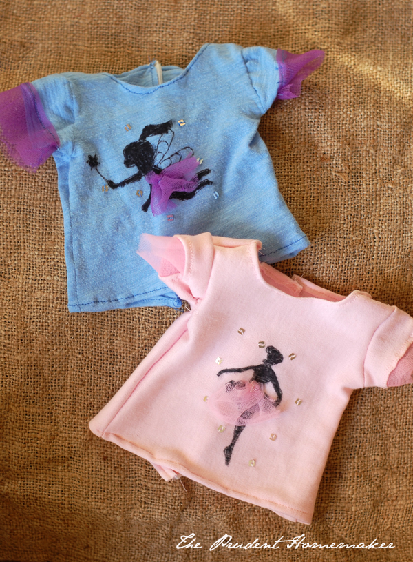 A Gift a Day: Day Seven: 18-inch Doll Shirts