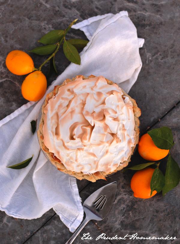 Lemon Meringue Pie The Prudent Homemaker