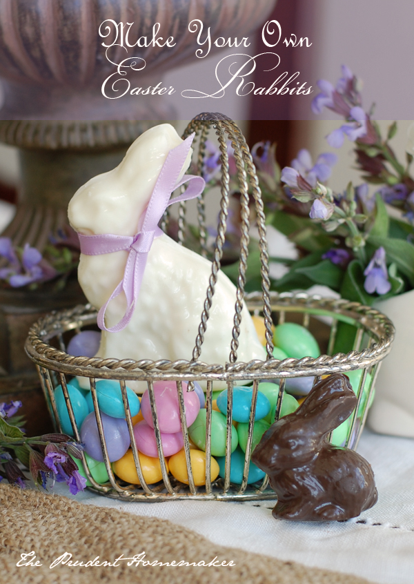 Make Your Own Chocolate Easter Rabbits