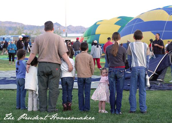 Hot Air Balloons 1 The Prudent Homemaker