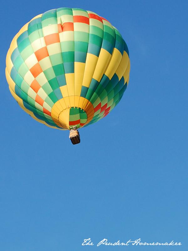 Hot Air Balloons 6 The Prudent Homemaker