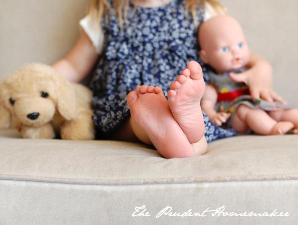 Ivory Feet The Prudent Homemaker