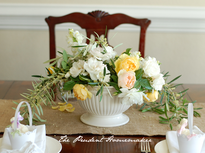 Easter Flowers The Prudent Homemaker