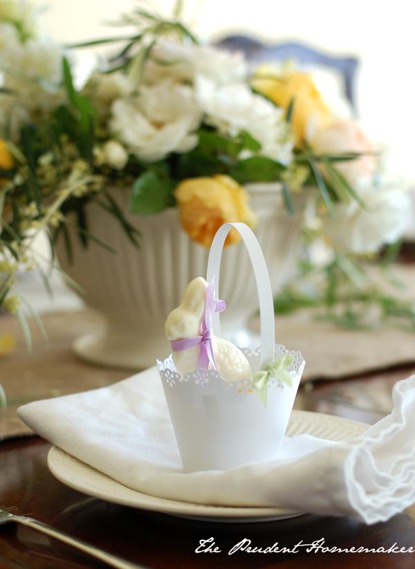 Easter Table Detail The Prudent Homemaker