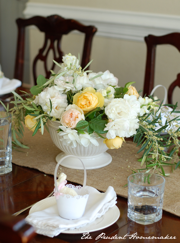 Easter Table The Prudent Homemaker