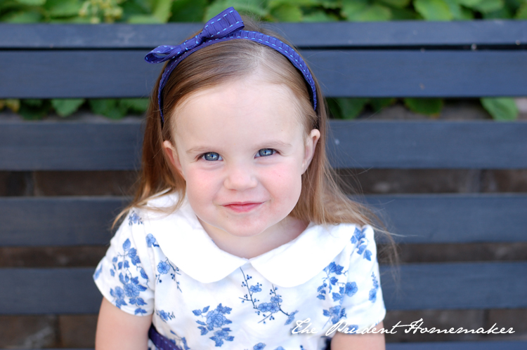 Ivory's Blue and White Birthday