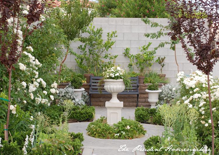 White Garden in June The Prudent Homemaker