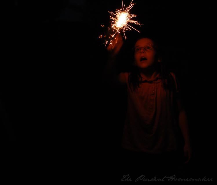 Liberty sparkler The Prudent Homemaker