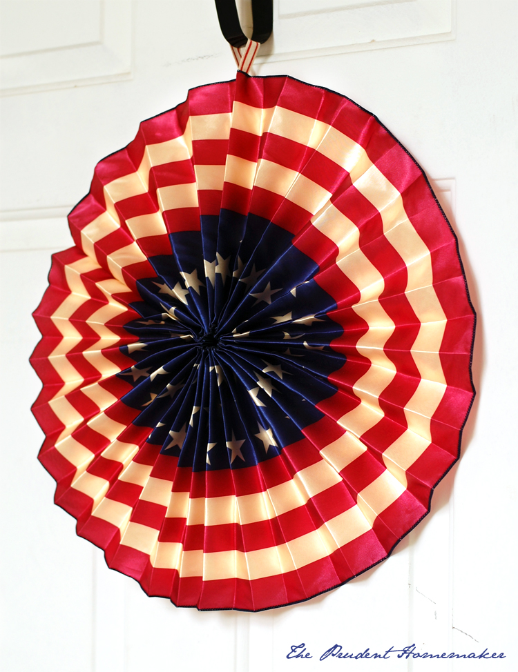 Patriotic Ribbon Medallion The Prudent Homemaker